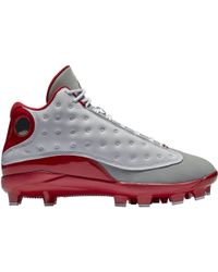 574fcacb1424ac Nike - 13 Retro Mcs Cleat Grey Toe - Lyst