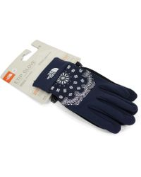 Supreme - The North Face Bandana Gloves Red - Lyst