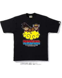 A Bathing Ape - Dragon Ball & Dr. Slump Araletee 2 Black - Lyst