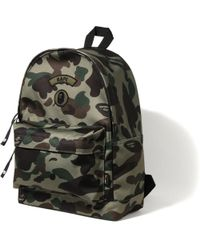 2d16be5e903d48 Lyst - A Bathing Ape 1st Camo Day Pack (cordura) Green in Green for Men