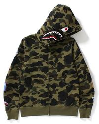 0cd52dd4 A Bathing Ape Ultimate Tiger Camo Shark Green in Green for Men - Lyst
