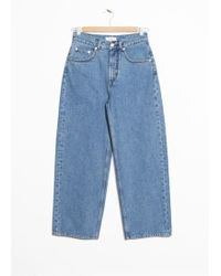 & Other Stories - High Waisted Culotte Jeans - Lyst