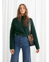 & Other Stories - Bell Sleeve Turtleneck Jumper - Lyst