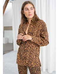 & Other Stories - Printed Button Up Shirt - Lyst