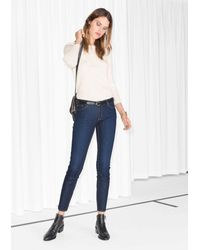 & Other Stories - Cropped Skinny Jeans - Lyst