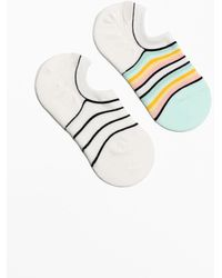 & Other Stories - Striped Invisible Sock 2-pack - Lyst