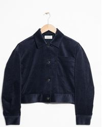 & Other Stories - Cropped Corduroy Jacket - Lyst