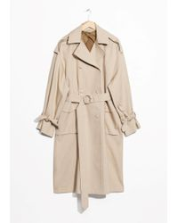 & Other Stories | Oversized Trench Coat | Lyst