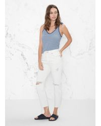 & Other Stories - Ripped Denim Jeans - Lyst