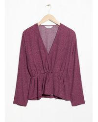& Other Stories - Knotted Top - Lyst