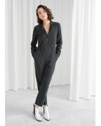 & Other Stories - Utility Workwear Boilersuit - Lyst