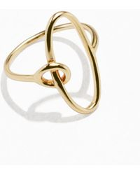 & Other Stories | Oval Loop Ring | Lyst