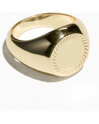 & Other Stories - Signet Ring - Lyst