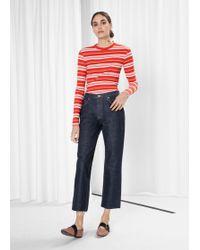 & Other Stories - Raw Denim Jeans - Lyst