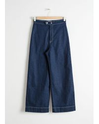 & Other Stories - High Waisted Flared Jeans - Lyst