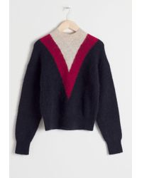 & Other Stories - Varsity Stripe Sweater - Lyst