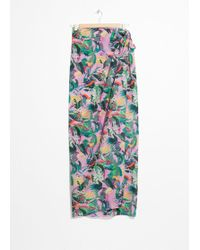 & Other Stories - Tropical Print Sarong - Lyst