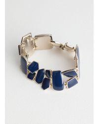 & Other Stories - Glossy Enamel Bracelet - Lyst