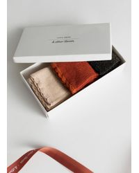& Other Stories - Metallic Socks Gift Set - Lyst