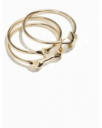 & Other Stories - Trio Stack Star Rings - Lyst