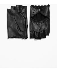 & Other Stories - Fingerless Leather Gloves - Lyst