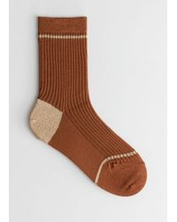 & Other Stories - Stripe Ankle Socks - Lyst