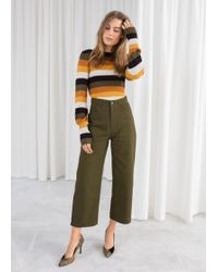 & Other Stories - Workwear Culottes - Lyst