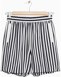 & Other Stories | Striped Shorts | Lyst