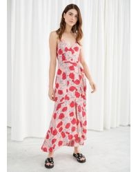 & Other Stories - Belted Midi Dress - Lyst