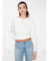 & Other Stories - Raglan Sleeve Sweater - Lyst