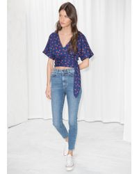 & Other Stories - High Waisted Skinnies - Lyst