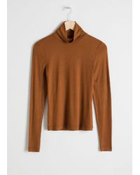 & Other Stories - Fitted Stretch Turtleneck - Lyst