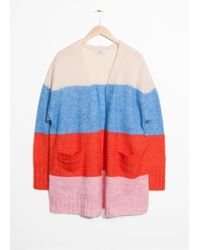 & Other Stories - Wool Blend Oversized Cardigan - Lyst