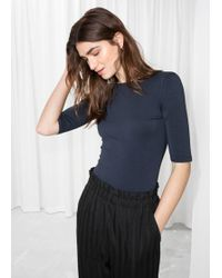 & Other Stories - Striped Top - Lyst