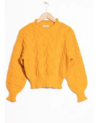 & Other Stories   Chunky Knit Jumper   Lyst