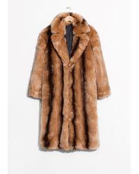 & Other Stories | Faux Fur Coat | Lyst