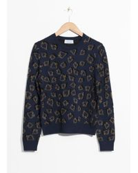 & Other Stories - Spade Knit Jumper - Lyst