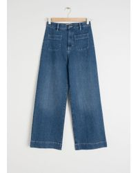 & Other Stories - Semi-stretch Workwear Jeans - Lyst
