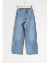 & Other Stories - Organic Cotton Wide Jeans - Lyst