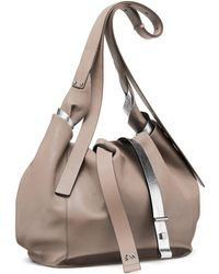 Stuart Weitzman - The Twist Hobo Medium - Lyst