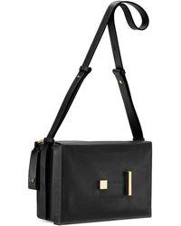 Stuart Weitzman - The Shoebox Shoulder Bag - Lyst