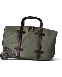Filson - Small Rolling Duffle Bag - Otter Green - Lyst