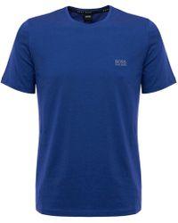 BOSS - Hugo Boss Medium Blue Rn T-shirt - Lyst