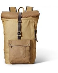 Filson - Roll-top Backpack - Tan - Lyst
