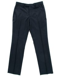 Gibson London - Gibson Navy Dress Trousers - Lyst