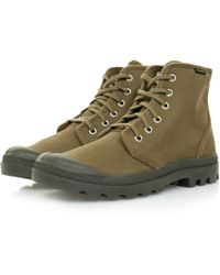 Palladium - Pampa Hi Originale Butternut Canvas Boot - Lyst