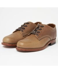 Wolverine - Oxford Natural Leather Shoes - Lyst