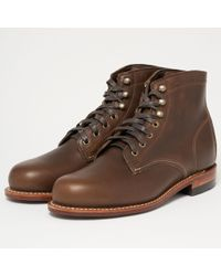 Wolverine - Original 1000 Mile Boot - Olive Brown - Lyst