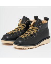 Fracap - M120 Scarponcino Vaccheta Black Leather Boots - Lyst