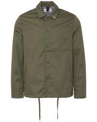 Farah - Military Green Marr Coach Jacket - Lyst